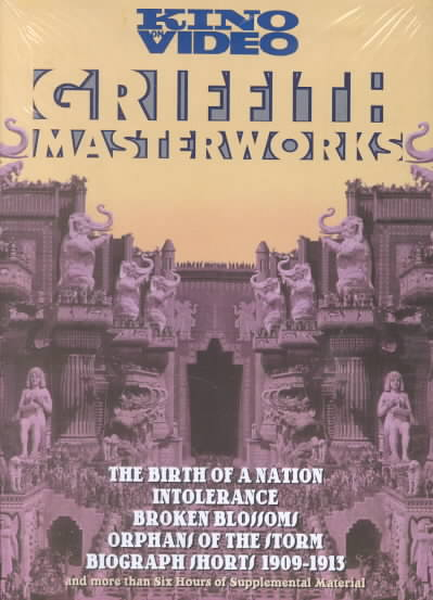 GRIFFITH MASTERWORKS BY GRIFFITH,D.W. (DVD)
